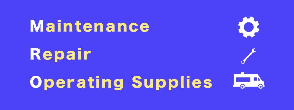 MRO maintenance repair operating supplies