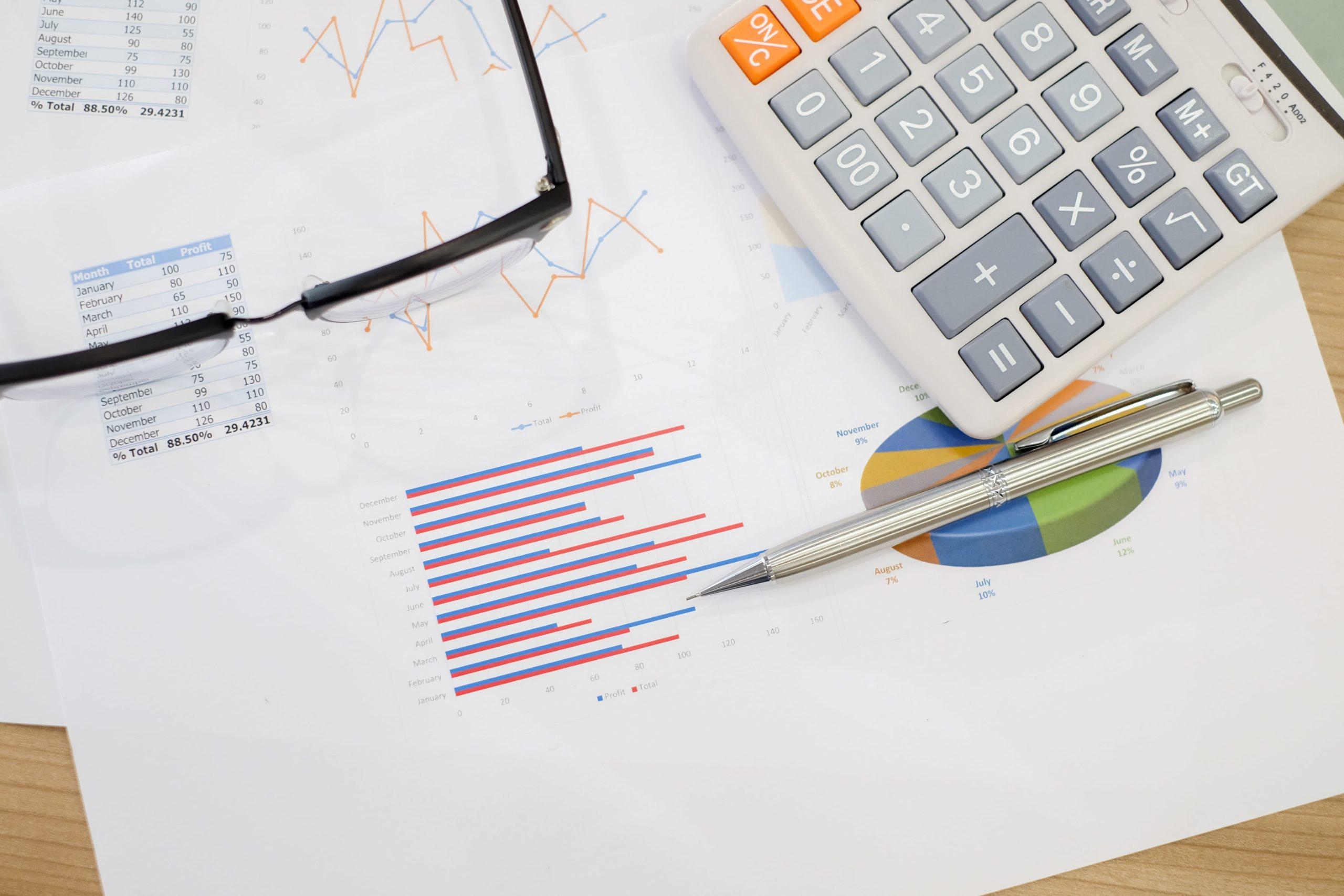 calculatrice tableaux et graphiques
