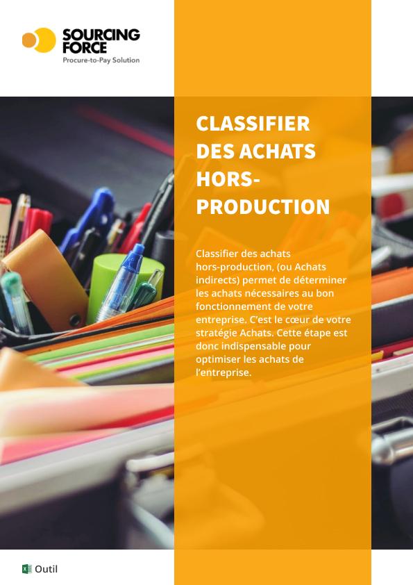 classifier des achats hors-production